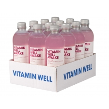 Vitamin Well Awake vitamiinijook 500ml 12tk +pant A
