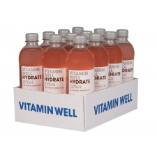 Vitamin Well Hydrate vitamiinijook 500ml 12tk