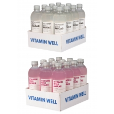 Vitamin Well Awake + Reload vitamiinijook 0,5L 24tk +pant A