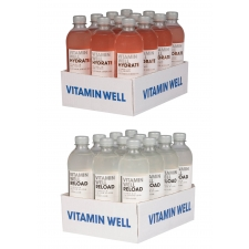 Vitamin Well Reload + Hydrate vitamiinijook 0,5L 24tk +pant A